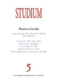 Cover Studium - Marino Gentile