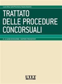 Cover Trattato delle procedure concorsuali vol. II