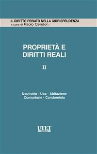 Cover Proprietà e diritti reali vol. 2