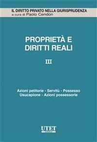 Cover Propietà e diritti reali - vol. 3