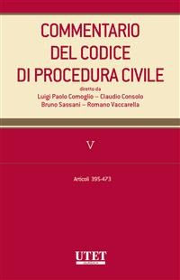 Cover Commentario al codice di procedura civile - vol. 5
