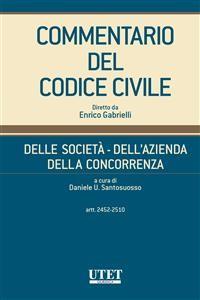 Cover Delle società - Dell'azienda - Della concorrenza, artt. 2452-2510 - vol. III