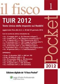 Cover Pocket - TUIR 2012