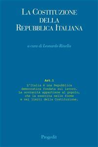Cover La Costituzione della Repubblica italiana