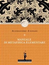Cover Manuale di Metafisica elementare