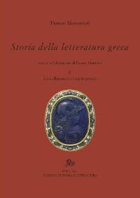 Cover Storia della letteratura greca. II