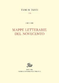Cover Mappe letterarie del Novecento