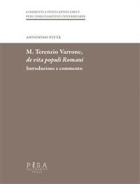 Cover M. Terenzio Varrone- De vita populi romani