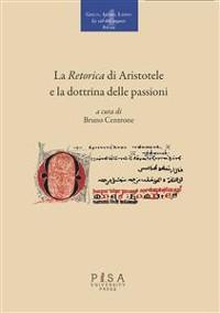 Cover La Retorica di Aristotele e la dottrina delle passioni