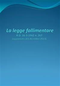 Cover La legge fallimentare