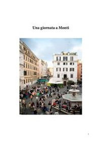 Cover Una giornata a Monti