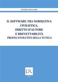 Cover Il software tra normativa civilistica diritto d'autore e brevettabilità. Profili evolutivi della tutela