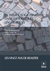 Cover La terminologie panlatine dans les politiques linguistiques