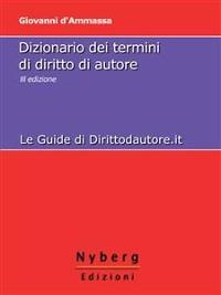 Cover Dizionario dei Termini di Diritto di Autore