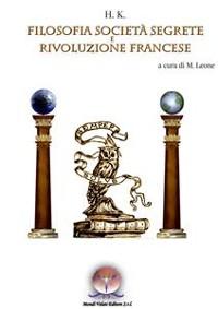 Cover Filosofia, Società Segrete e Rivoluzione Francese
