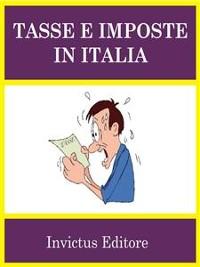 Cover Tasse e imposte in Italia