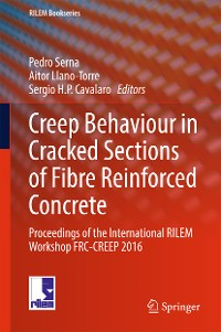 Cover Creep Behaviour in Cracked Sections of Fibre Reinforced Concrete