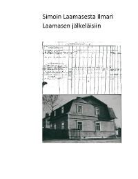 Cover Simon Laamaisesta Ilmari Laamasen  jälkeläisiin