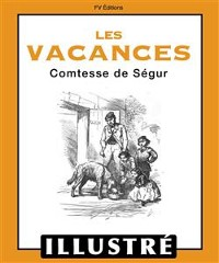 Cover Les vacances (Illustré)