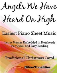 Cover Angels We Have Heard On High Easiest Piano Sheet Music