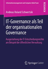 Cover IT-Governance als Teil der organisationalen Governance