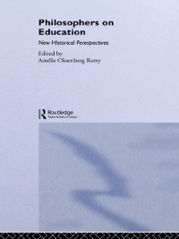 Cover Philosophers on Education