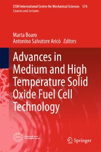 Cover Advances in Medium and High Temperature Solid Oxide Fuel Cell Technology