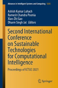 Cover Second International Conference on Sustainable Technologies for Computational Intelligence