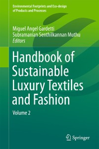 Cover Handbook of Sustainable Luxury Textiles and Fashion