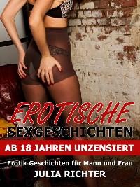 Cover Erotische Sexgeschichten ab 18 Jahren unzensiert