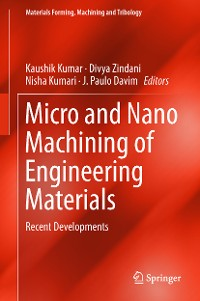 Cover Micro and Nano Machining of Engineering Materials