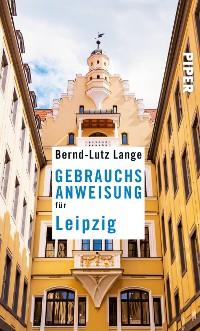 Cover Gebrauchsanweisung für Leipzig