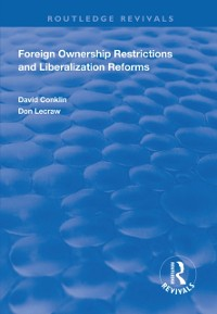 Cover Foreign Ownership Restrictions and Liberalization Reforms