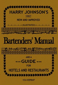 Cover Bartenders' Manual