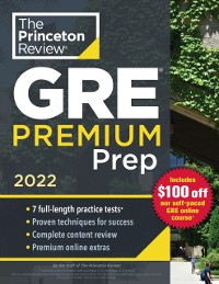Cover Princeton Review GRE Premium Prep, 2022