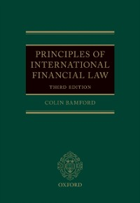 Cover Principles of International Financial Law