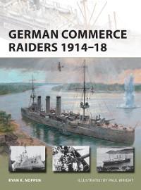 Cover German Commerce Raiders 1914 18