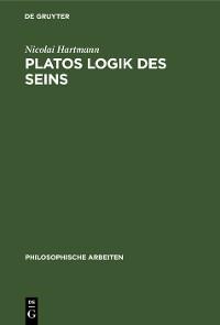 Cover Platos Logik des Seins