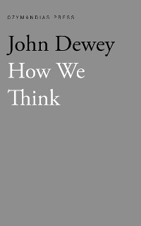 Cover How We Think