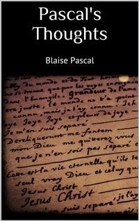 Cover Pascal's Thoughts