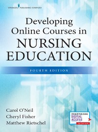 Cover Developing Online Courses in Nursing Education