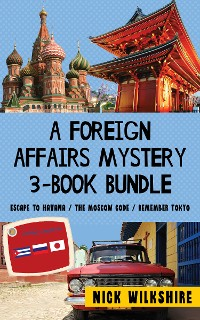 Cover A Foreign Affairs Mystery 3-Book Bundle