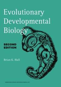 Cover Evolutionary Developmental Biology