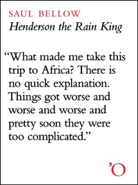 Cover Henderson the Rain King