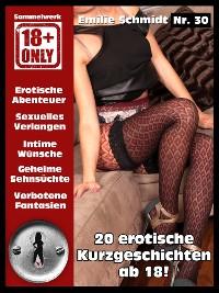 Cover Erotische Kurzgeschichten ab 18 Jahren unzensiert