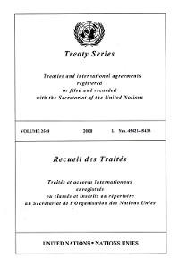 Cover Treaty Series 2548/Recueil des Traités 2548