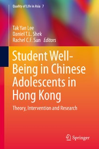 Cover Student Well-Being in Chinese Adolescents in Hong Kong