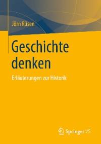 Cover Geschichte denken