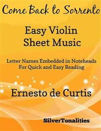 Cover Come Back to Sorrento Easy Violin Sheet Music