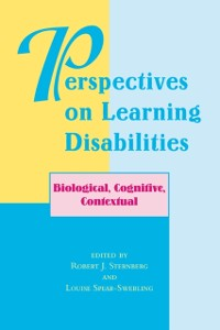 Cover Perspectives On Learning Disabilities